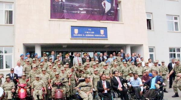 Şanliurfa'da 33 Engelli Temsili Askerlik Yaptı