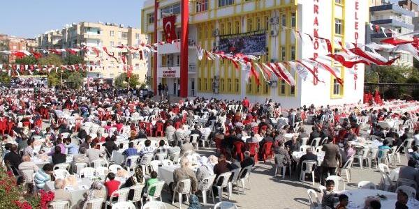 Şanliurfa'da 5 Bin Kişiye Kuru Fasulye Ve Pilav Ikrami