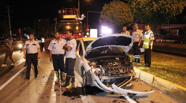 Şanliurfa'da Alkollü Sürücü Kaza Yaptı: 1 Yaralı