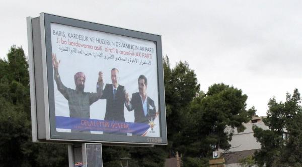 Şanliurfa'da Başbakan, Perver Ve Tatlıses'li Afiş