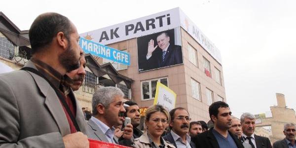 Şanliurfa'Da 'duvar' Protestosu
