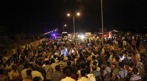 Şanliurfa'da Elektrik Protestosu (2)
