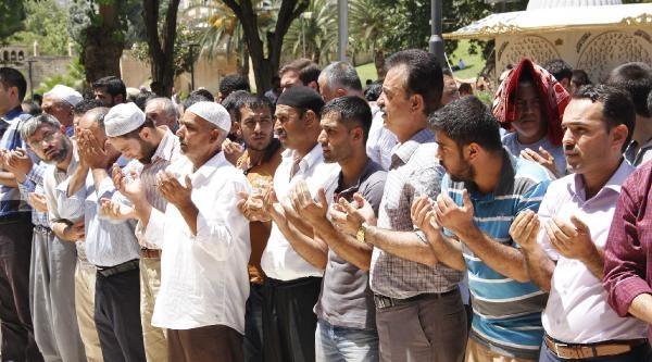 Şanliurfa'da Filistinliler İçin Gıyabi Cenaze Namazı Kılındı