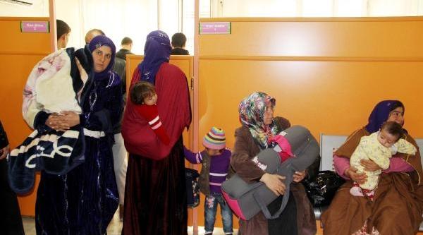 Şanliurfa'da Günde 2 Bin 600 Çocuk Muayene Ediliyor