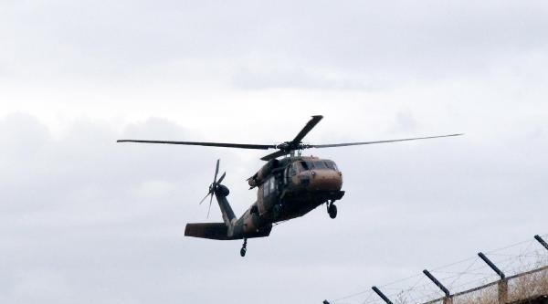 Şanliurfa'da Helikopter Hareketliliği