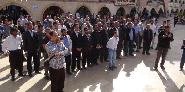 Şanliurfa'da Hür Dava Partisi'nden Eylem