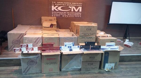 Şanliurfa'da Kaçak Sigaraya 2 Tutuklama