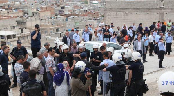 Şanliurfa'da Kaçak Yapılar Yıkıldı