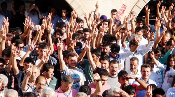 Şanliurfa'da Lice Protestosu