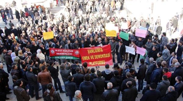 Şanliurfa'Da 'maraş' Protestosu