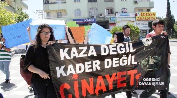 Şanliurfa'da Öğrencilerden Soma Protestosu