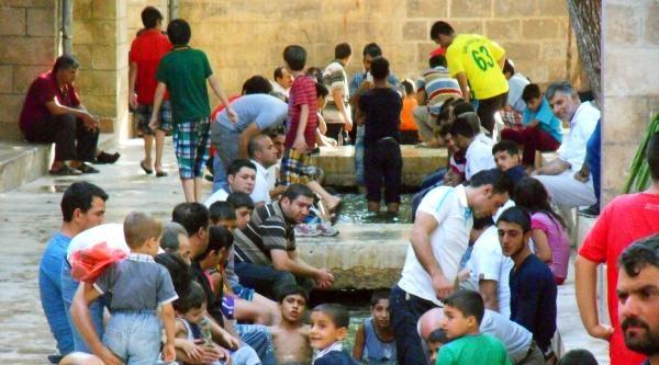 Şanliurfa'da Oruçlulara 'kutsal Serinlik'