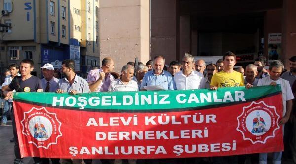 Şanliurfa'da Sivas Olayları Protesto Edildi