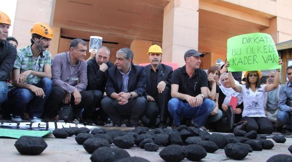 Şanliurfa'da Soma Protestosu