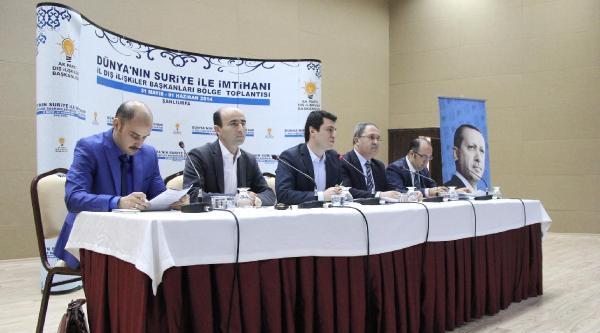 Şanliurfa'da Suriye Çaliştayi
