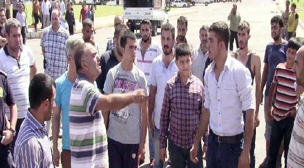 Şanliurfa'da 'suriyeli İşçi' Gerginliği