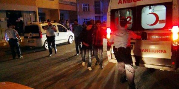 Şanliurfa'da Tabancali Kavga: 1 Yarali