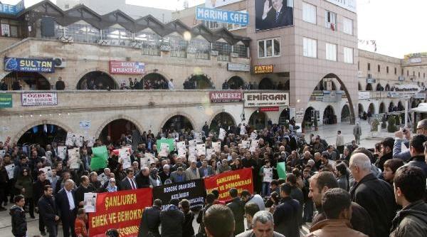 Şanliurfa'da 'uludere' Protestosu
