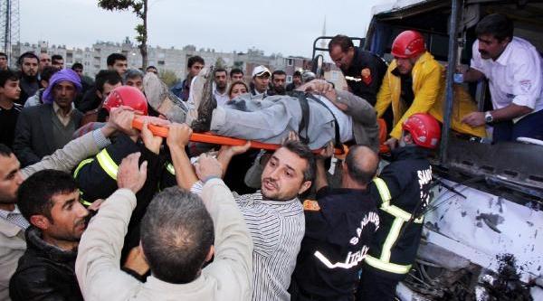 Şanliurfa'da Zincirleme Kaza: 6 Yarali