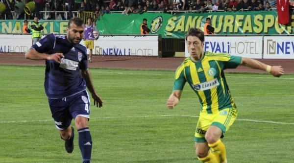 Şanliurfaspor-gaziantep Büyükşehir: 0-1