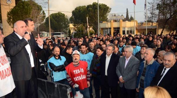 Santral Işçileri Yine Ankara Yolunda