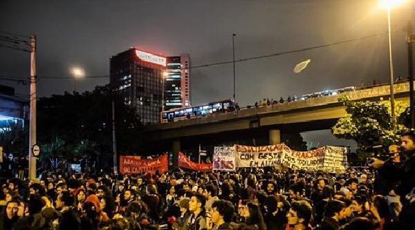 Sao Paulo'da 'ücretsiz Bilet Hareketi' Yıldönümünde Olaylar Çikti