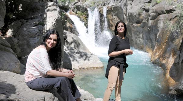 Sapadere Kanyonu'na Ziyaretçi Akını