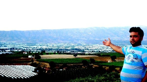 Sarıgöl Ovası'na Beyaz Naylon Örtü