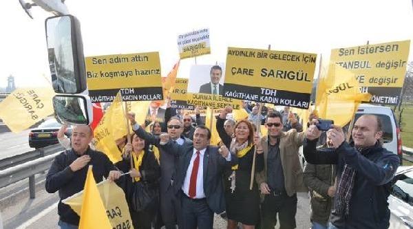 Sarigül'den Bakirköy'de Miting (1)