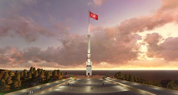 Sarıkamış şehitleri için 99 metrelik anıt yapılıyor...