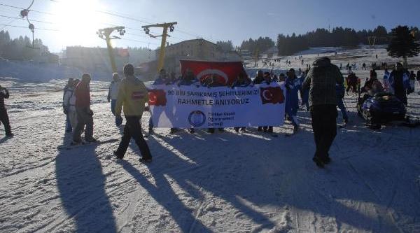 Sarikamiş Şehitleri Uludağ'da Anildi