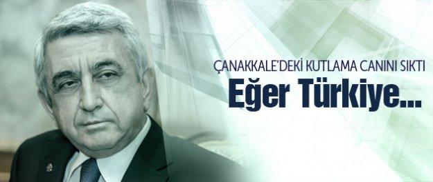 Sarkisyan'dan Erdoğan ve Çanakkale çıkışı