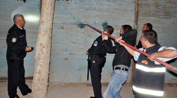 Satirli Madde Bağimlisi Biber Gazi Sikilarak Yakalandi
