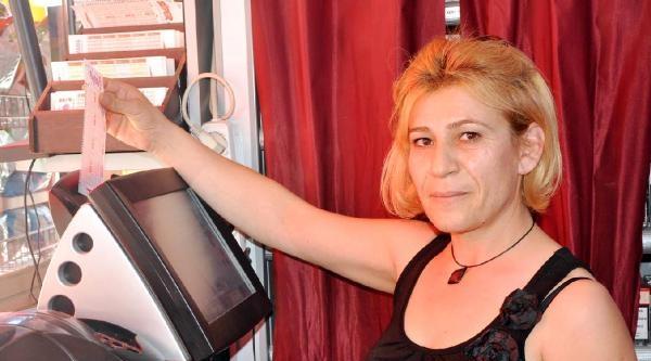 Sayısal Lotoyu Kazanan Kupon, Kemer'de Yatırıldı