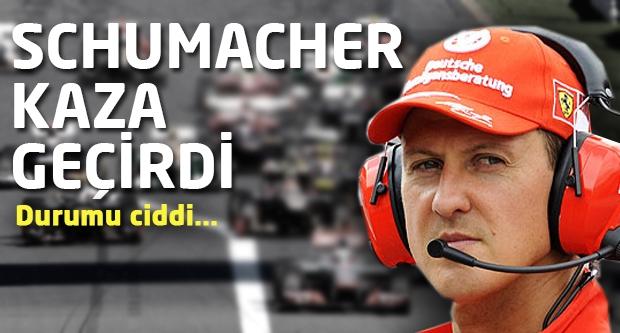 Schumacher Kaza Geçirdi!