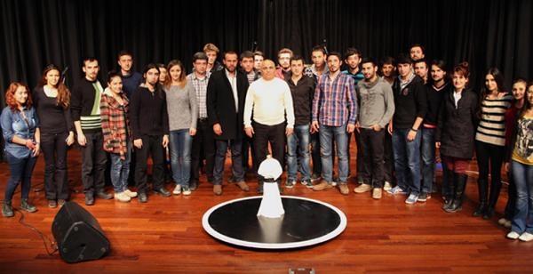 Sdü Teknoloji Kulübü, Semazen Robot Yapti