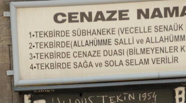 Seba İçin Kayseri'de Camide Lokum Dağıtıldı