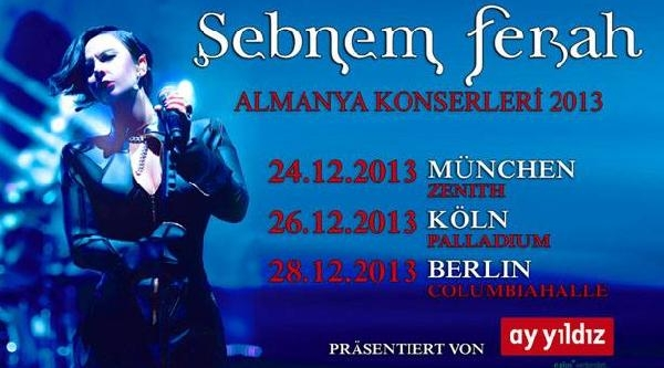 Şebnem Ferah Konserine Almanya'dan Vize Engeli