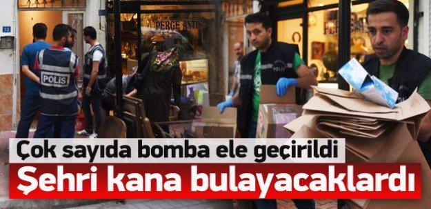 Seçim öncesi çok sayıda bomba ele geçirildi