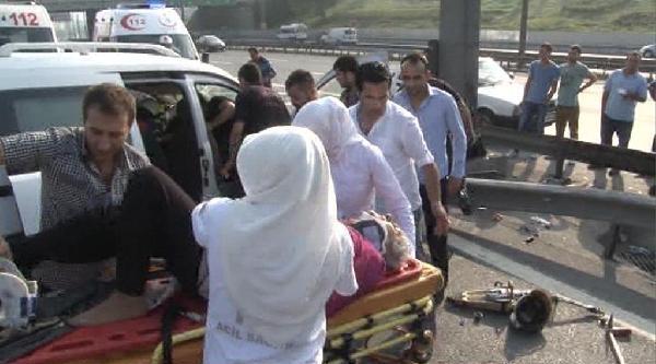 Seçim Sabahı Tem'de Can Pazarı : 5 Yaralı