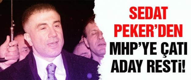 Sedat Peker'den MHP'ye çatı aday resti!