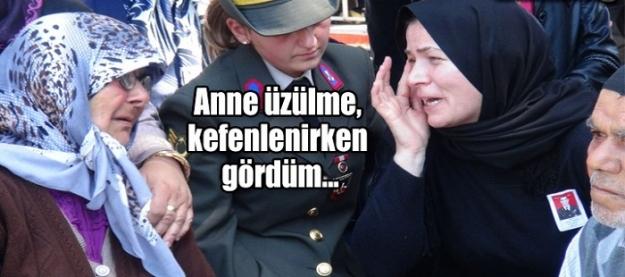 Şehidin eşi herkesi ağlattı!