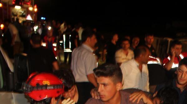 Şehirlerarasi Otobüs Şarampole Devrildi: 6 Ağır, 54 Yaralı