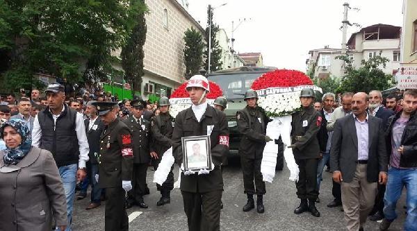 Şehit Er Gebze'de Son Yolculuğuna Uğurlandı