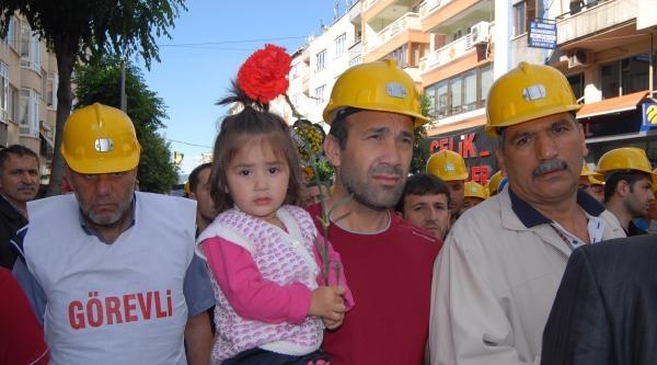 Şehit Madencilere Sessiz Anma - Ek Fotoğraflar