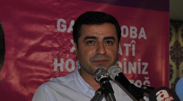Selahattin Demirtaş; Çankaya'da Halktan Yana Cumhurbaşkanı Hiç Olmadı(2)
