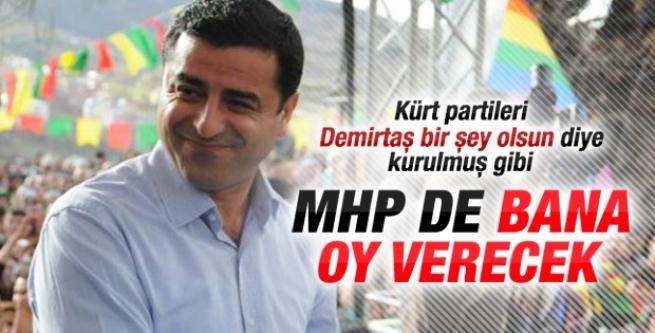 Selahattin Demirtaş: Cumhurbaşkanlığına adayım