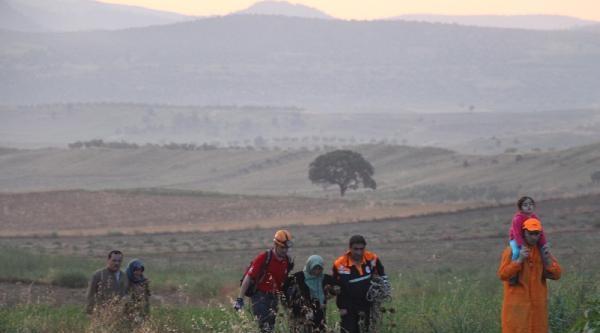 Selde Mahsur Kalan Köylüleri İlk Yardım Ekipleri Kurtardı