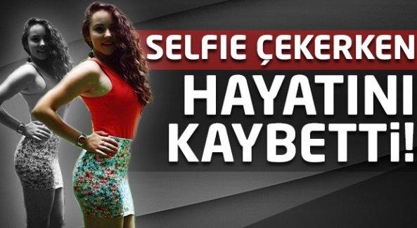 Selfie çekerken akılalmaz ölüm!
