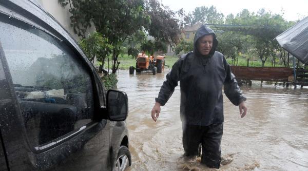Selin Vurduğu Tekkeköy'de Hasar Tespiti Yapılıyor
